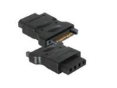 Adapter 4 pin molex til 15 pin SATA Adapter 4 pin molex til 15 pin SATA