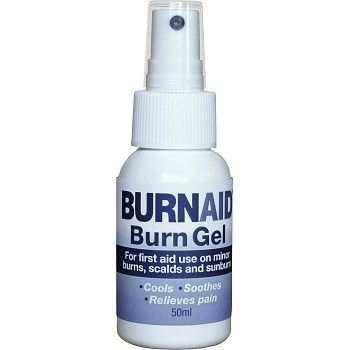 Branngele Burnaid pumpeflaske 50ml