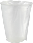 Beger - transparent plast - 250ml (500 stk)