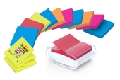 Dispenser til Post-It  Z-Notes 76 X 76 mm, Hvit