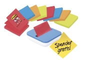 Dispenser til Post-It Z-Notes 76x76 mm, lilla