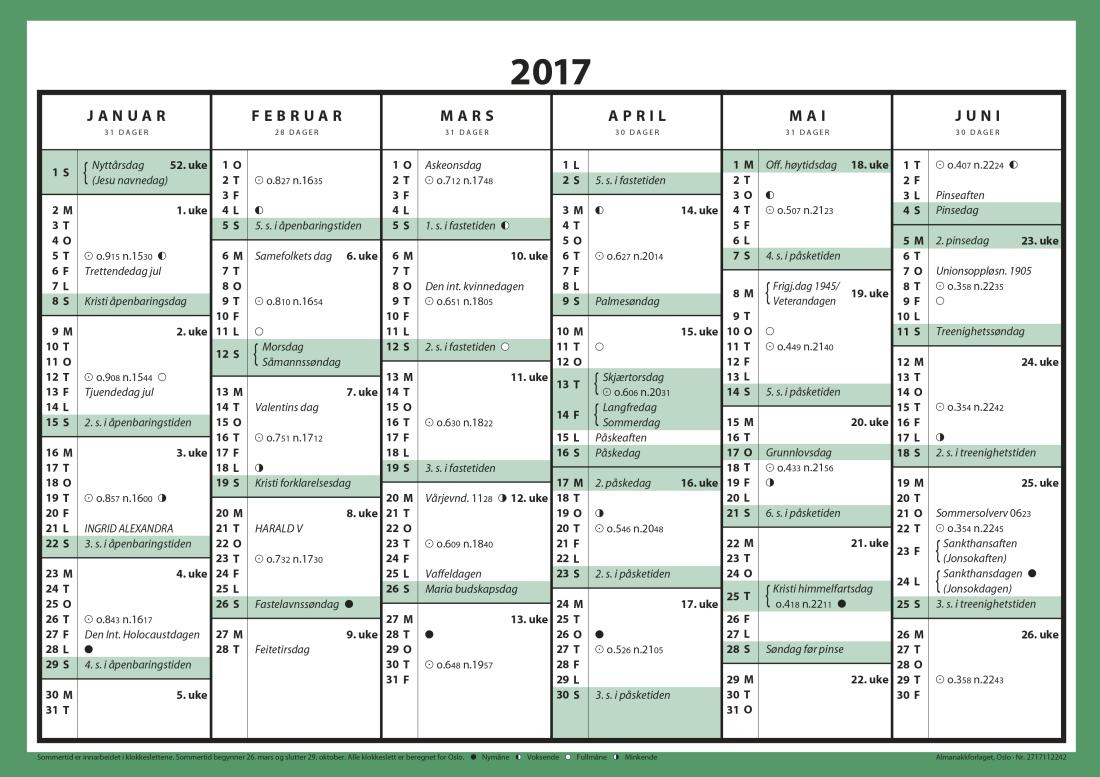 kalender 2017 norsk med helligdager related keywords suggestions kalender 2017 norsk med. Black Bedroom Furniture Sets. Home Design Ideas