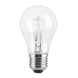Glødelampe Halogen, normal 28w k230v e27, Aura Light