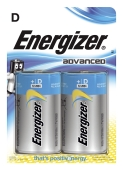 Batteri 1,5V Energizer  Advanced D LR20 (24 stk)