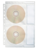 CD/DVD lomme for perm Dataline, for 4 stk cd/dvd